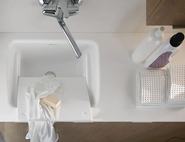 Tavoletta lavanderia in teknoril